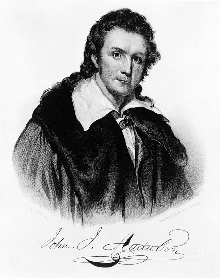 History Photograph - John James Audubon, French-american by Photo Researchers, Inc.