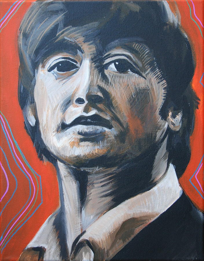 Beatles Painting - John Lennon by Kate Fortin