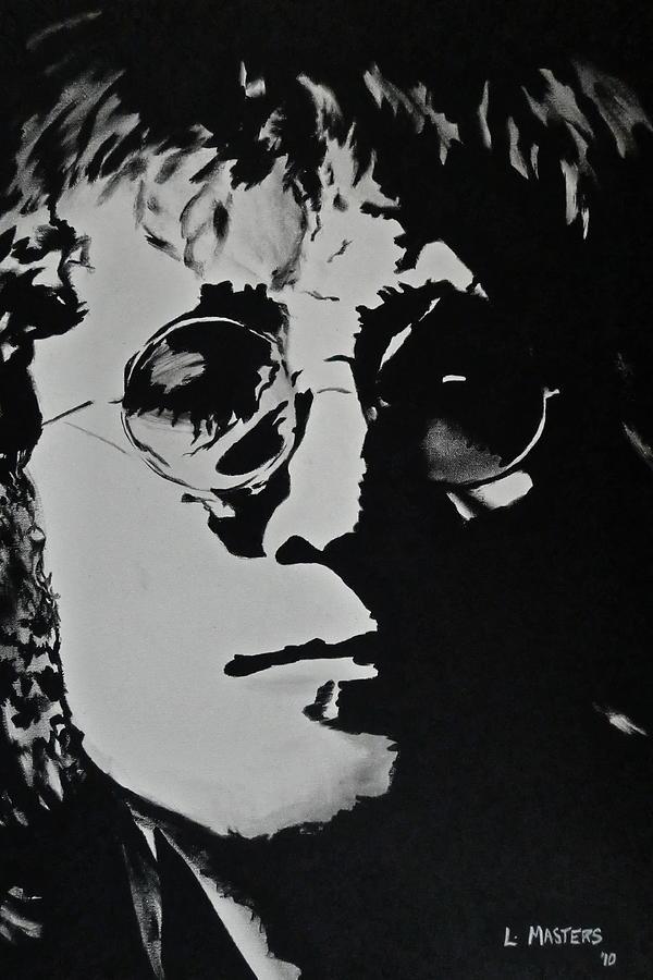 Lennon Painting - John Lennon by Lisa Masters