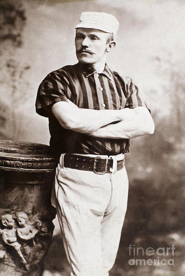 1885 Photograph - John M. Ward (1860-1925) by Granger