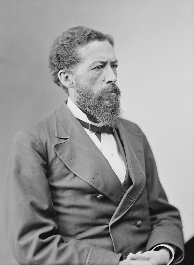 History Photograph - John Mercer Langston 1829-1897 by Everett