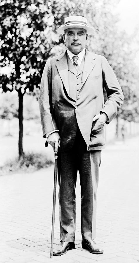 1900s Portraits Photograph - John Pierpont Morgan, Financierbanker by Everett
