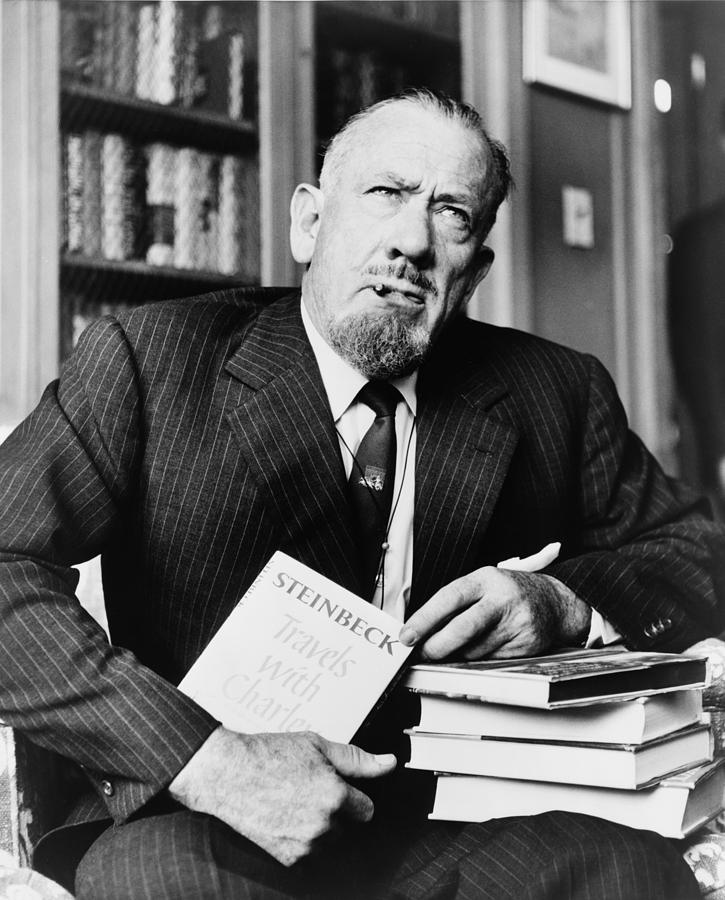 a biography of john steinbeck the american nobel laureate writer My favorite author, john ernst steinbeck jr, has a birthday coming up on  long  story short, rights to the book weren't available at the time scott  one of the  greatest of all american authors won a nobel prize by default.