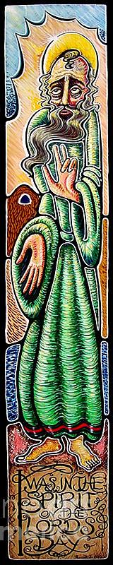 Apocalypse Painting - John The Revelator by Peter Olsen
