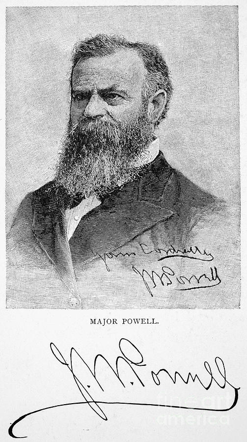 1895 Photograph - John Wesley Powell by Granger