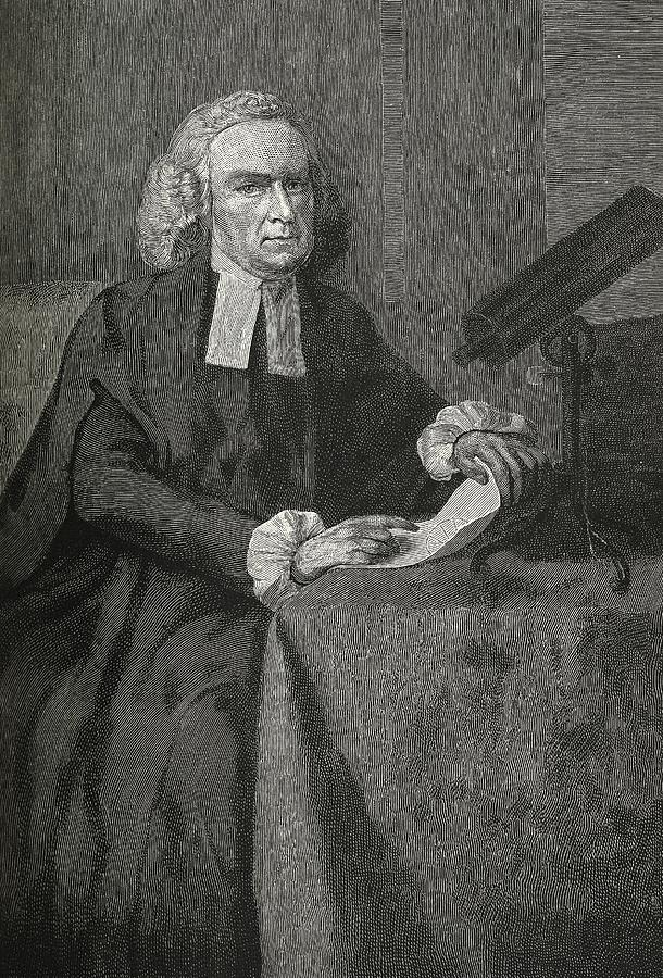 Winthrop Photograph - John Winthrop, Us Astronomer by Science, Industry & Business Librarynew York Public Library