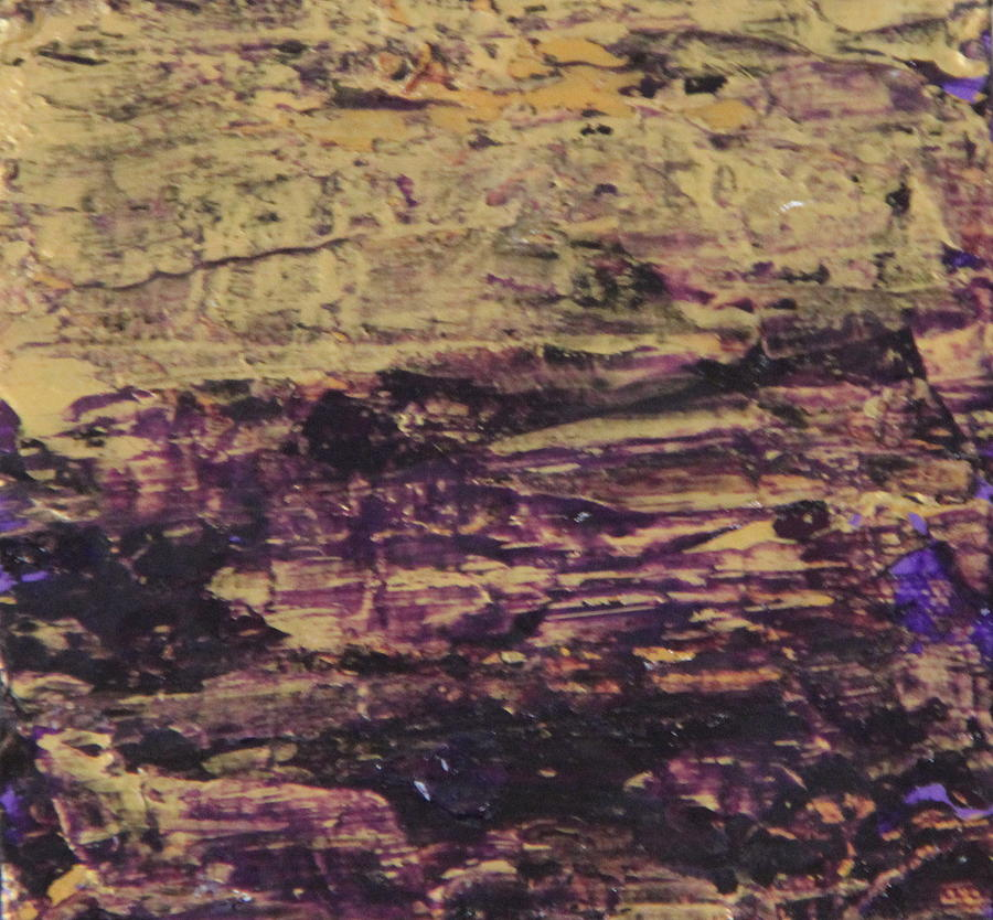Purple Painting - John.9 by Tracy Fetter