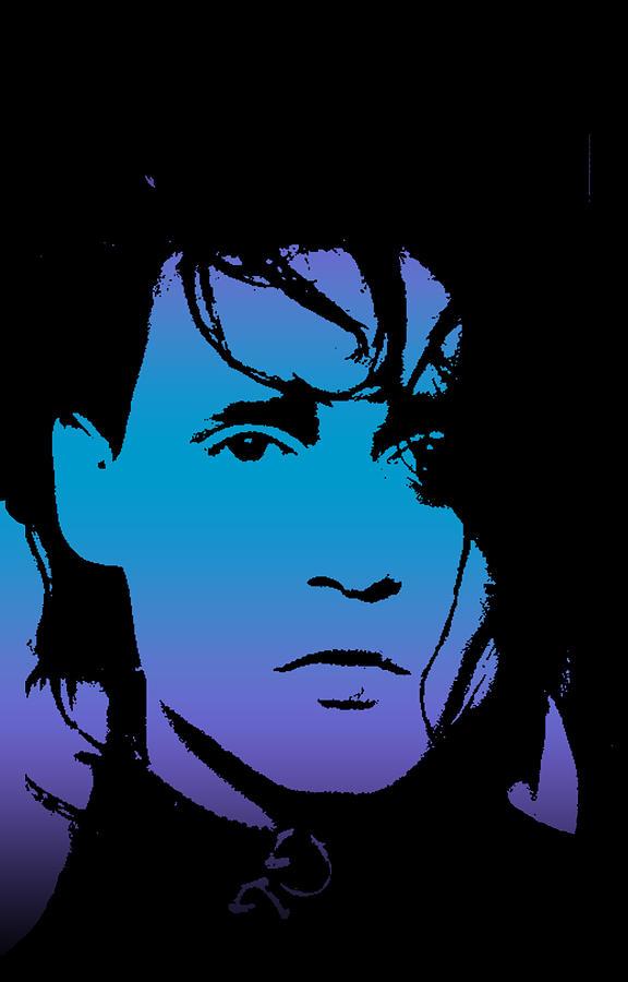 Johnny Digital Art - Johnny As Edward by Jera Sky