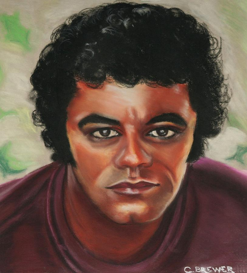 Johnny Mathis Painting - Johnny Mathis by Cyndi Brewer