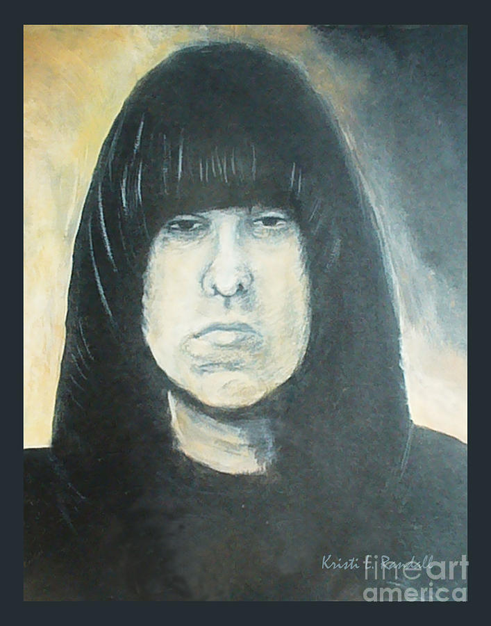 Johnny Ramone Painting - Johnny Ramone The Ramones Portrait by Kristi L Randall