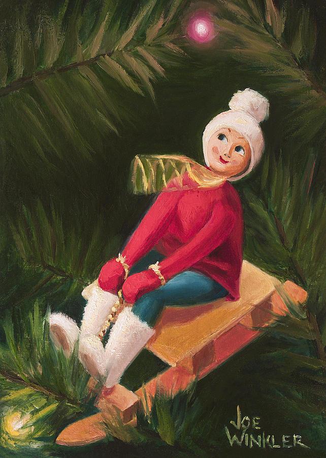 Jolly Old Elf by Joe Winkler