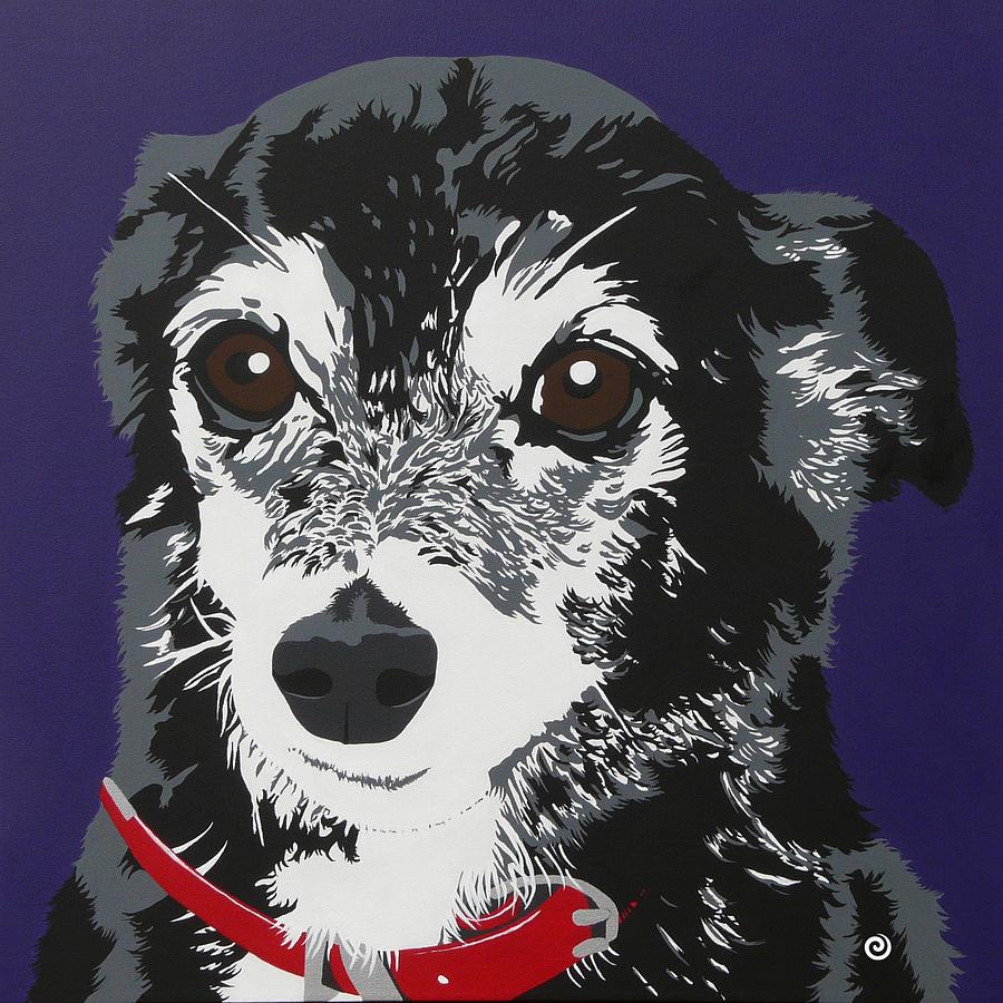 Best Friend Painting - Jordan by Jacqueline Eden