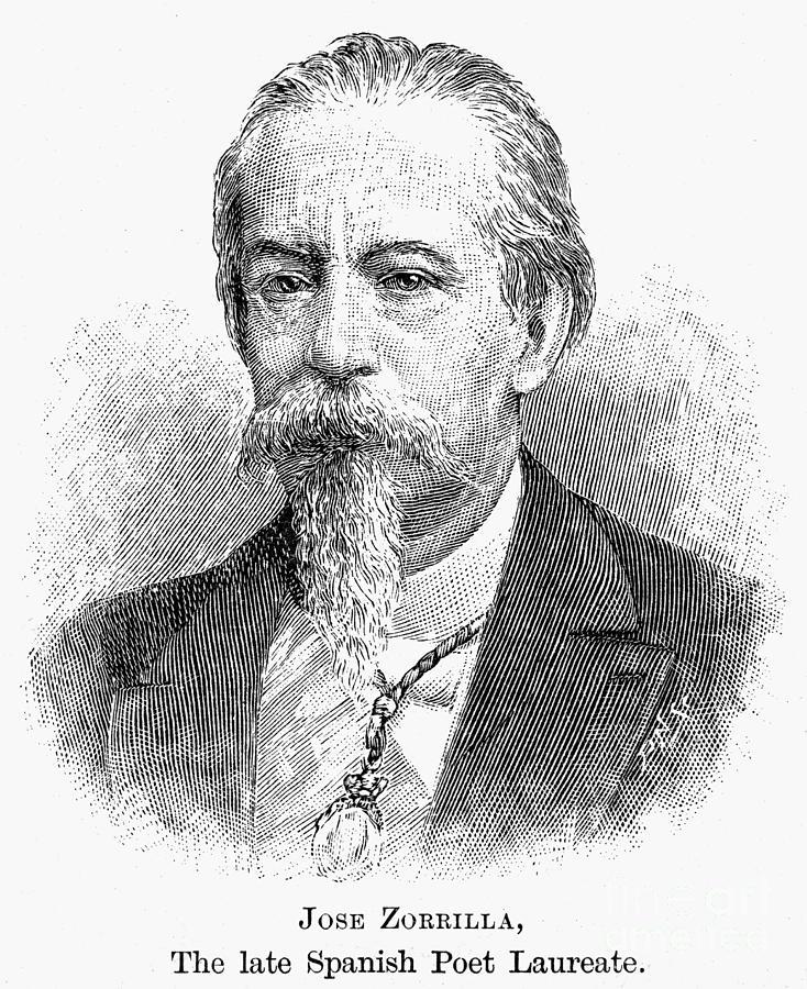 1893 Photograph - Jos� Zorrilla Y Moral by Granger