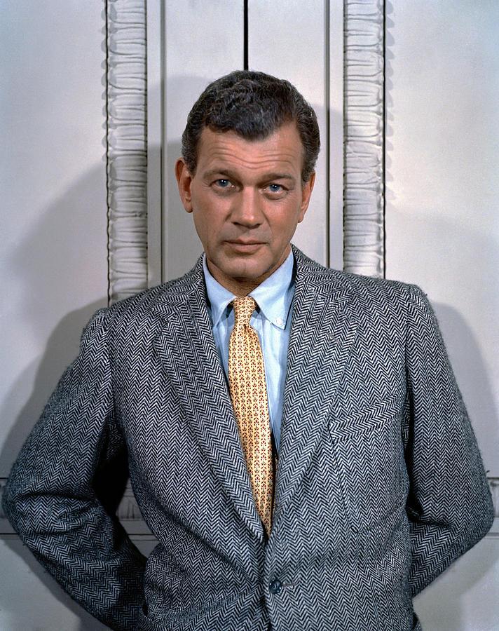 1950s Fashion Photograph - Joseph Cotten, 1950s by Everett