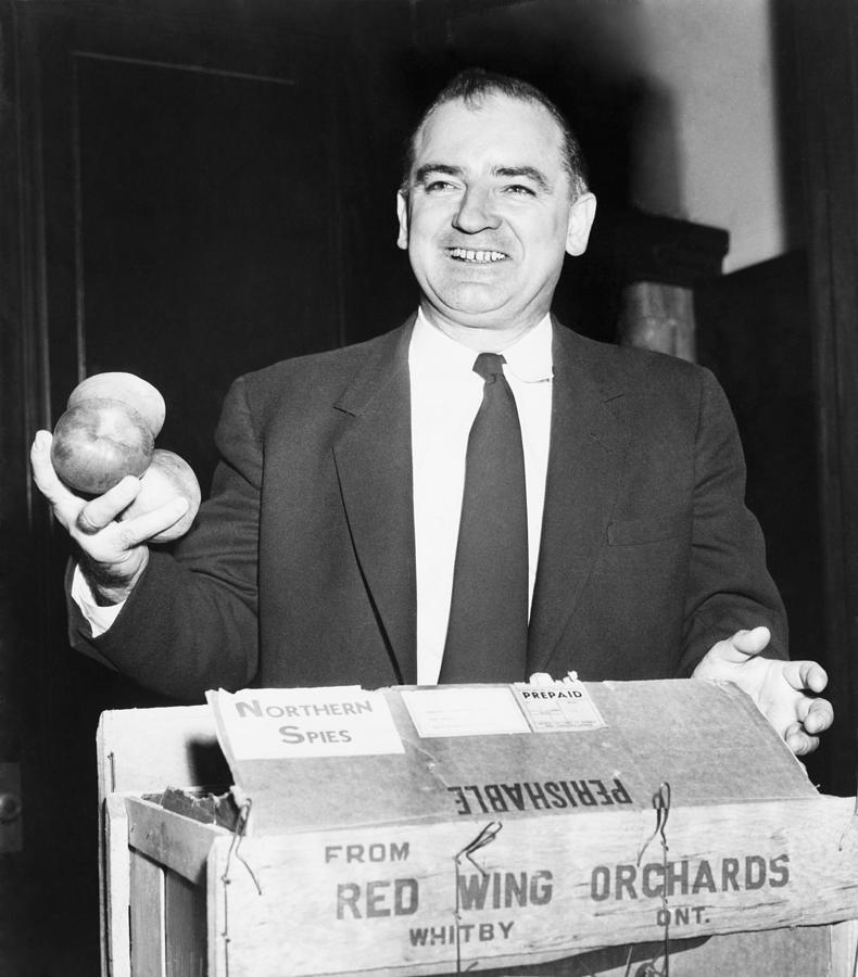 History Photograph - Joseph Mccarthy 1908-1957, Laughing by Everett