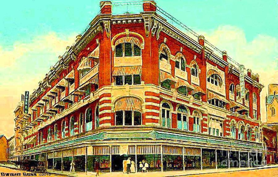 Joske S Department Store In San Antonio Tx Around 1910