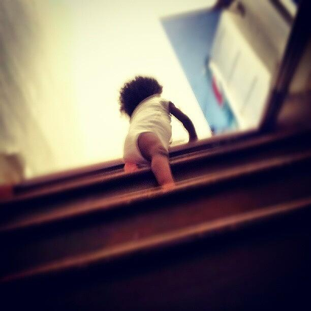 Instagram Photograph - Journee Climb All The Way To The Top Of by Jermaine Young