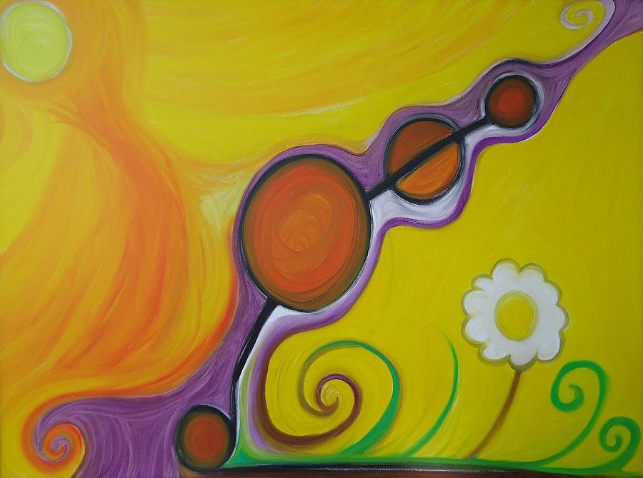 Greenworldalaska Painting - Joy - The Emotion Of Great Happiness. by Cory Green