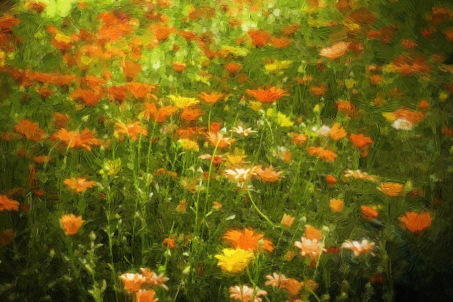 Flower Digital Art - Joy by Diane Dugas
