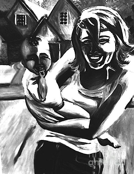 Portrait Painting - Joy by Jeffrey Kyker