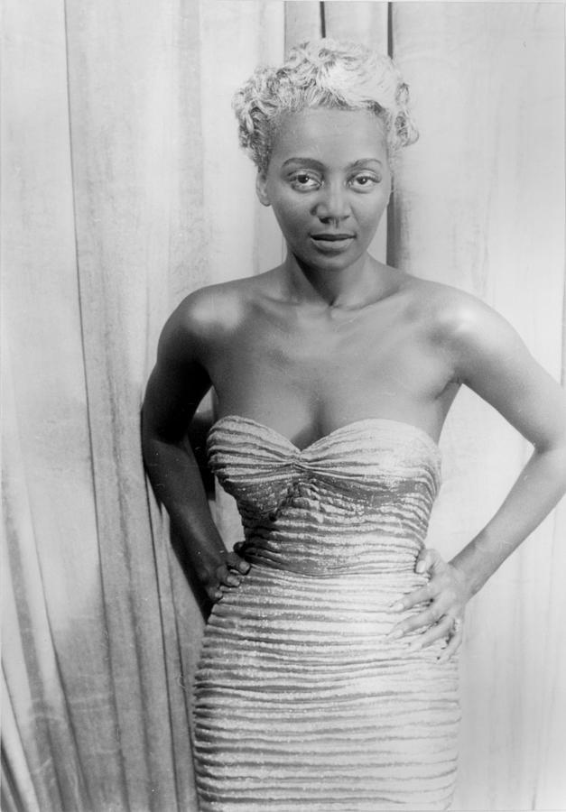 1950s Photograph - Joyce Bryant, African American Singer by Everett