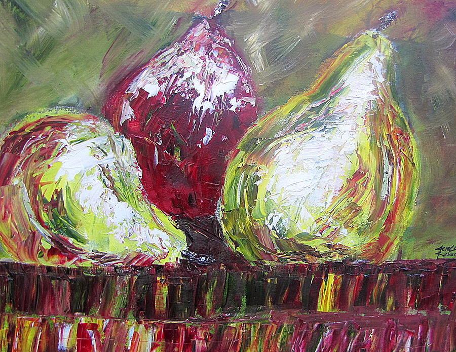 Fruit Painting - Juciy by Jenell Richards
