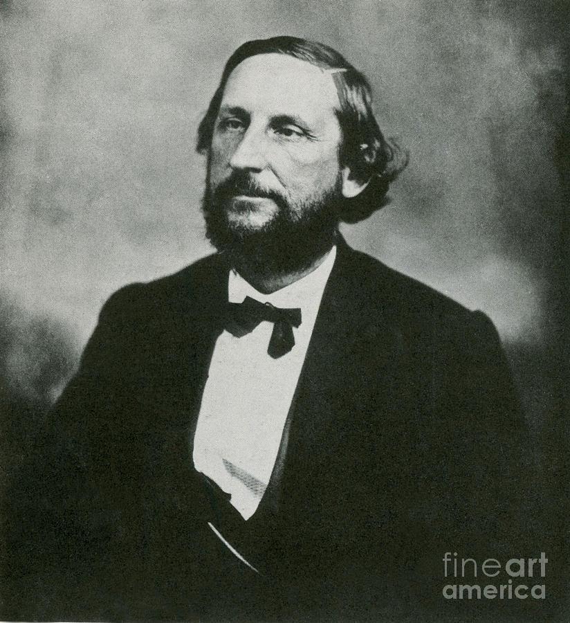 History Photograph - Judah P. Benjamin, Confederate by Photo Researchers