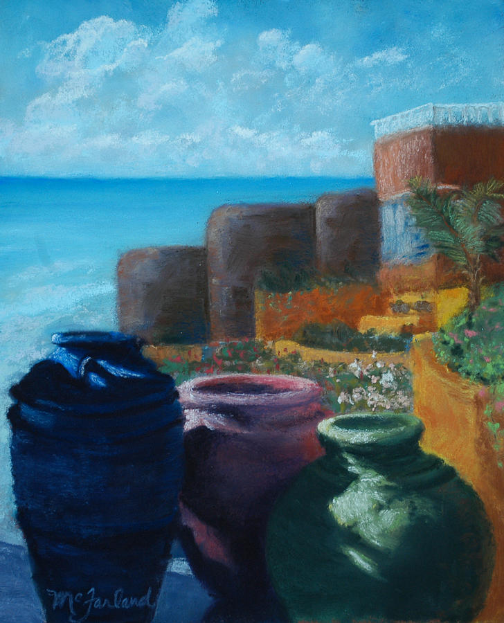 Crocks Pastel - Juju Jars - Cancun by Lorraine McFarland