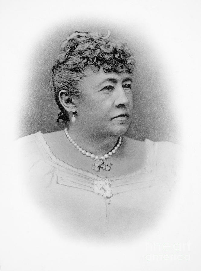 19th Century Photograph - Julia Dent Grant (12826-1902) by Granger