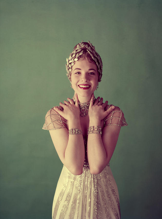 1950s Portraits Photograph - Julie Andrews, Mid-late 1950s by Everett