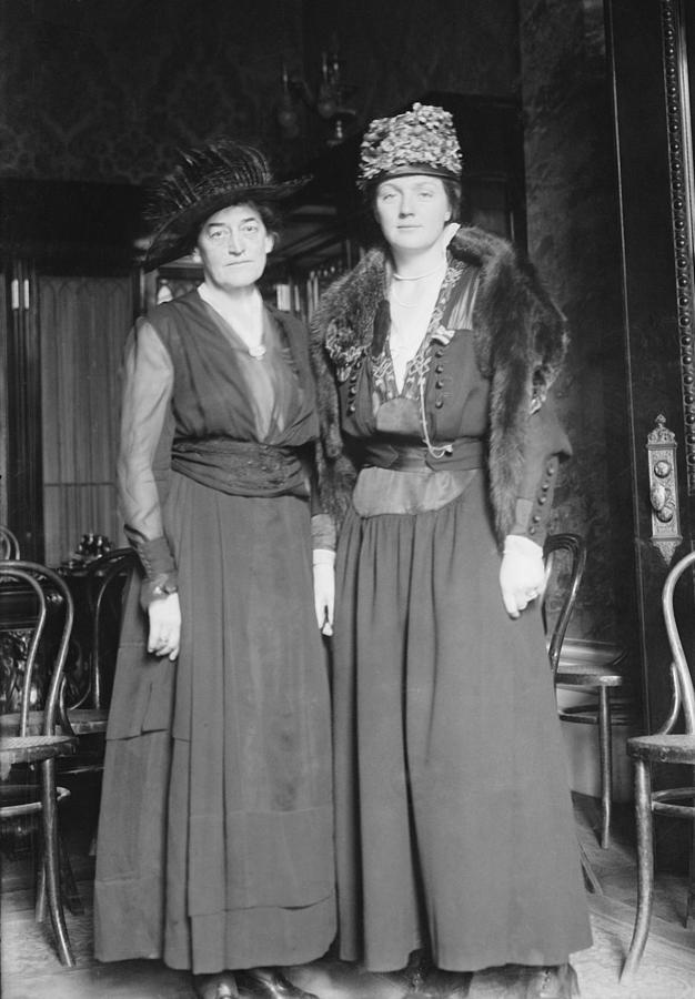 1900s Photograph - Juliette Gordon Low, Left Founder by Everett
