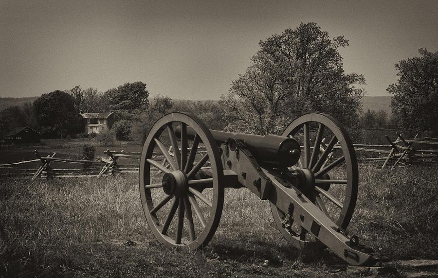 Gettysgurg Photograph - July 1 1863 Gettysburg by William Jones