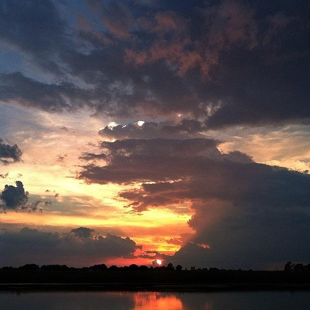 Clouds Photograph - July 15 by Lisa Worrell