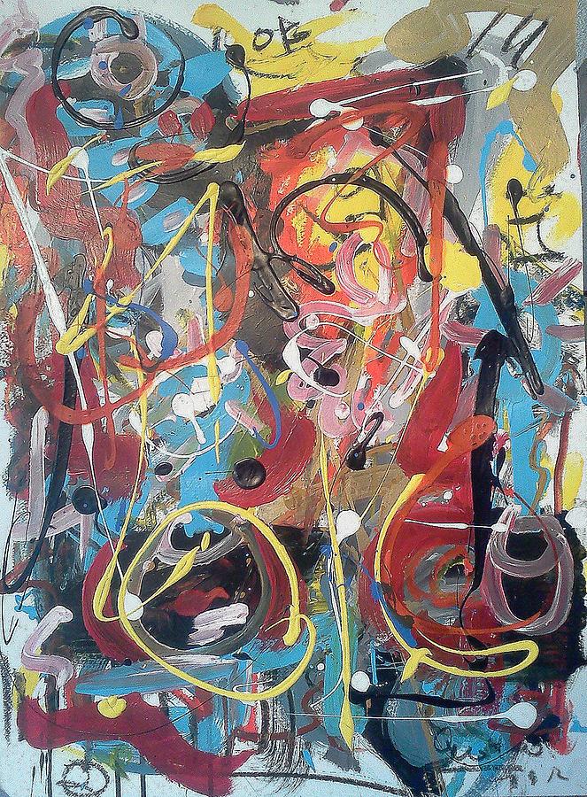 The July 9 Painting - July 9 2012-2 by Gustavo Ramirez