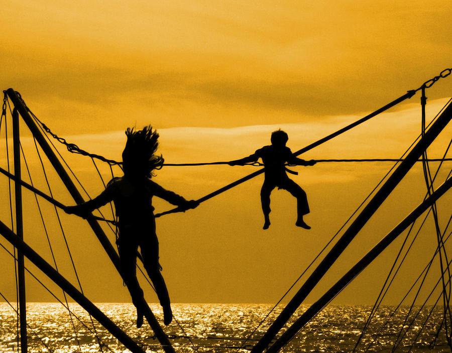 Children Photograph - Jump For Joy by Jasna Buncic