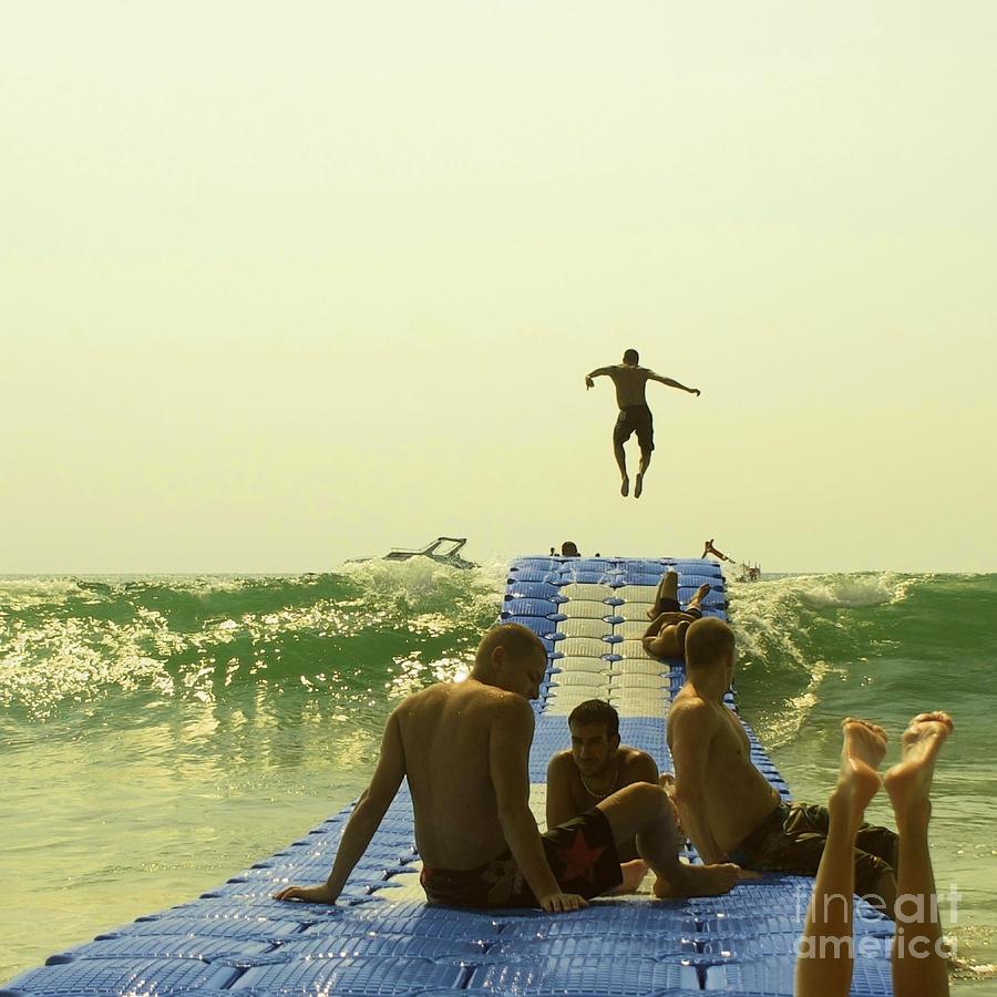 Jump Photograph - Jump by Paul Grand