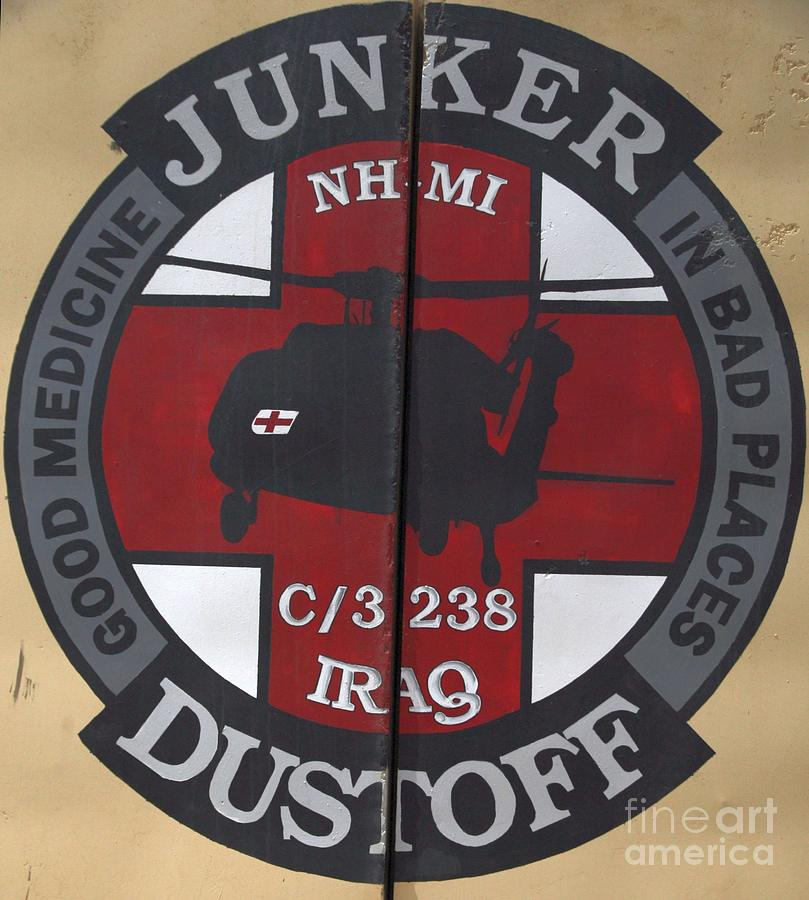 Murals Photograph - Junker Dustoff by Unknown