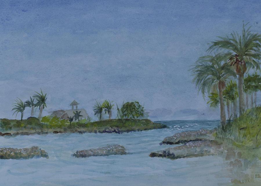 Jupiter Inlet Painting - Jupiter Inlet by Donna Walsh