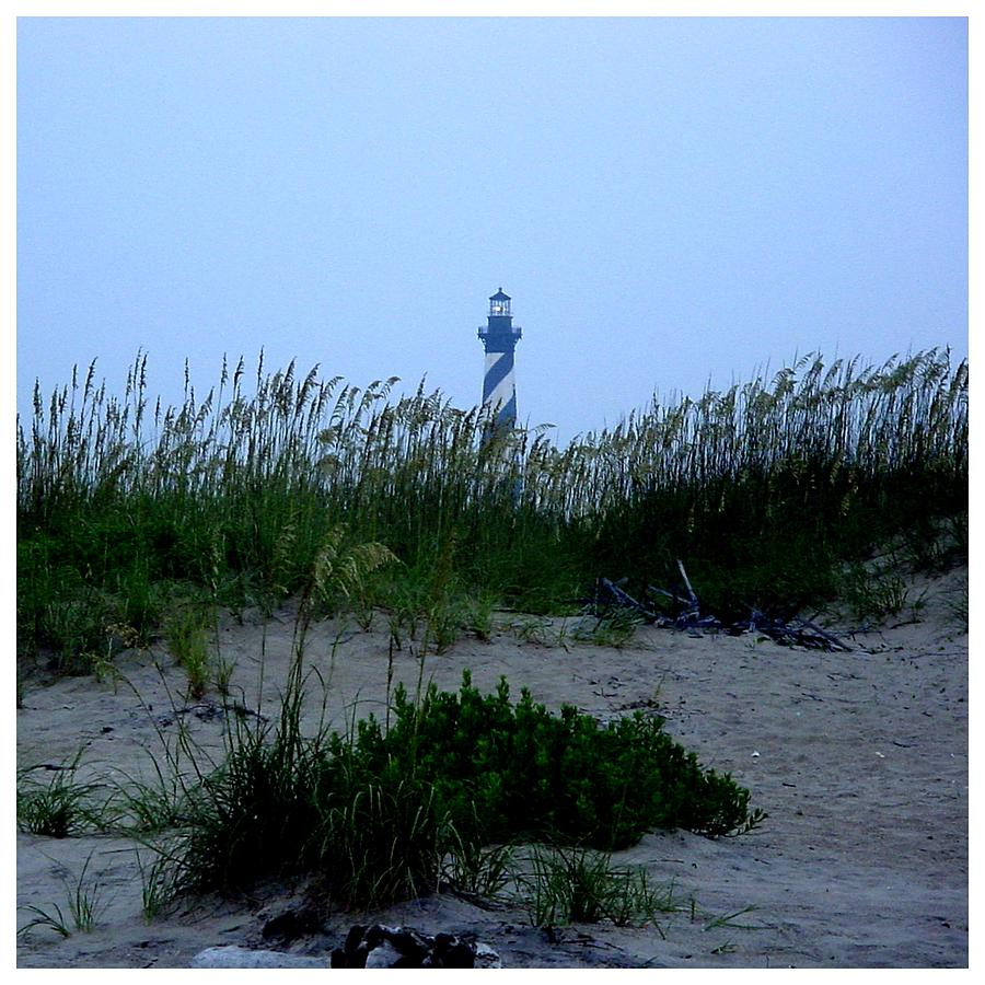 Seaoats Photograph - Just Beyond The Sea Oats by Frank Wickham