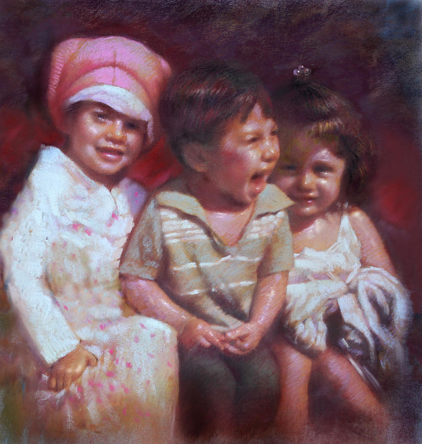 Children Pastel - Just Say Cheese by Ylli Haruni