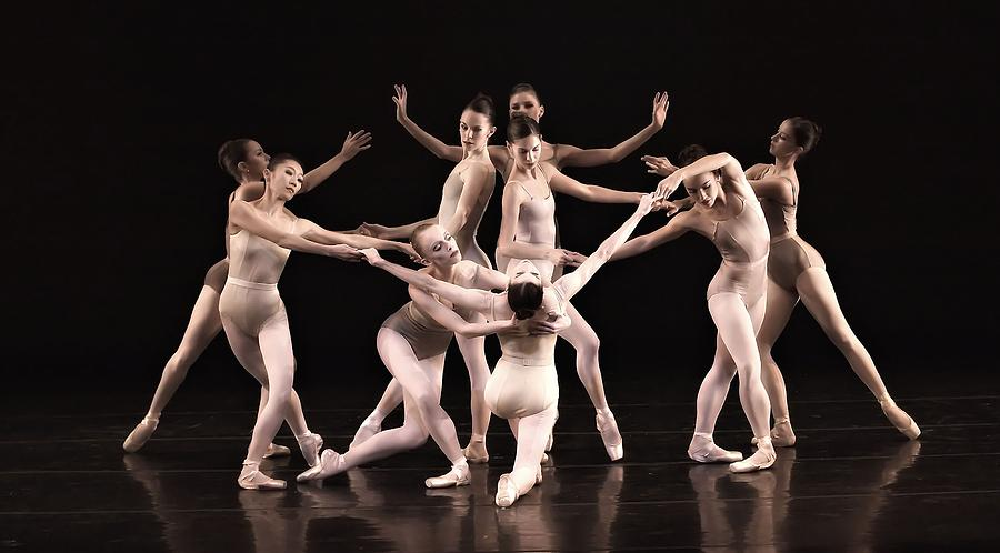 Ballet Photograph - Just The Gals by Kenneth Mucke