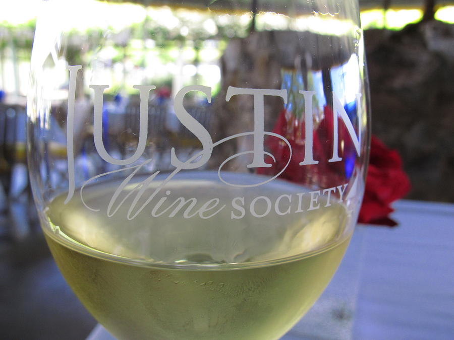 Justin Wine Photograph - Justin Afternoon by Colleen Rugg