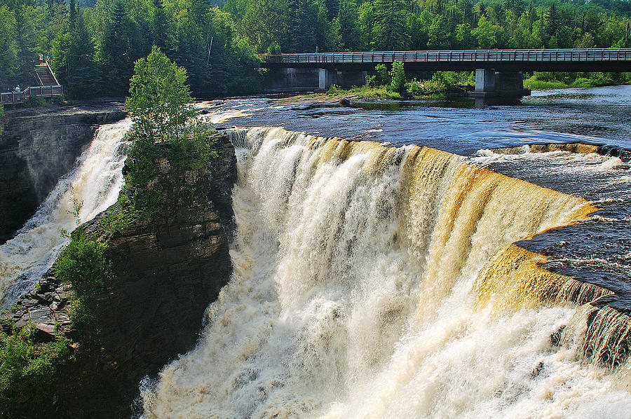 Kakabeka Falls Photograph - Kakabeka Falls by Bill Morgenstern