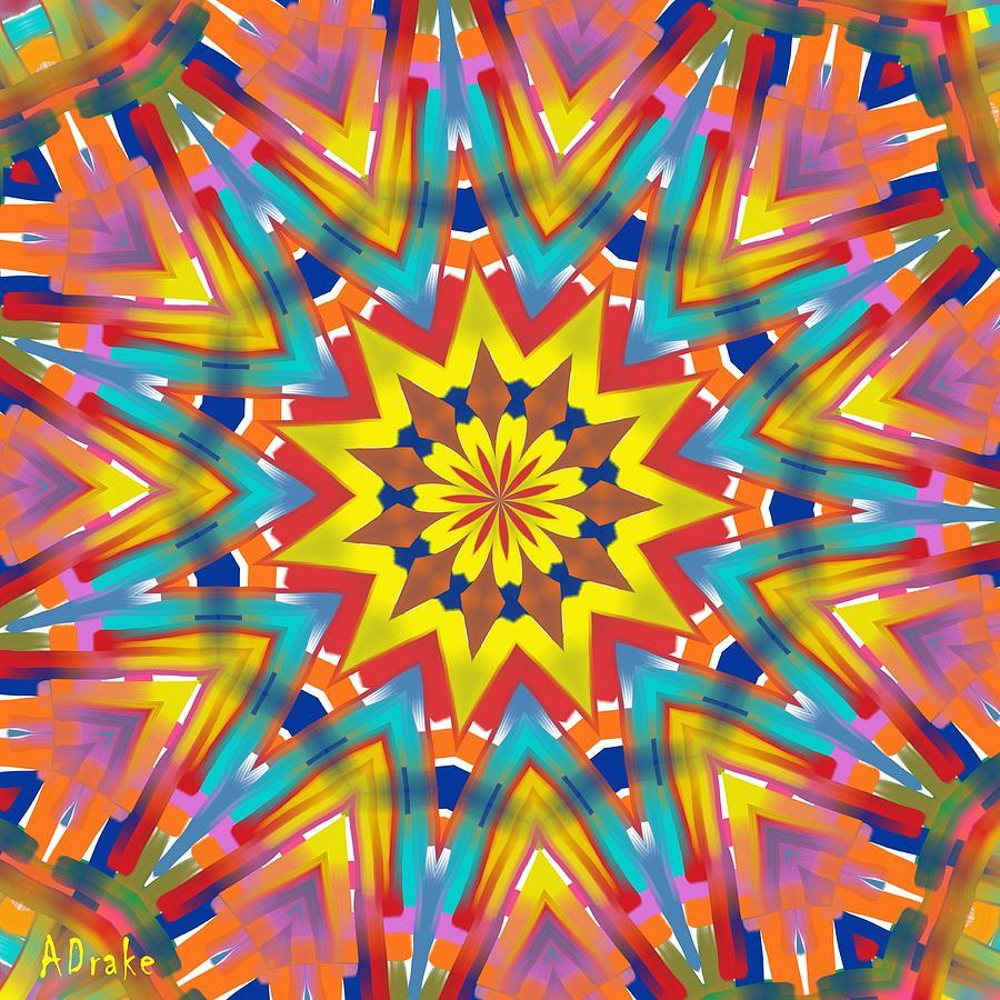 Kaleidoscope Series Number 7 Digital Art by Alec Drake