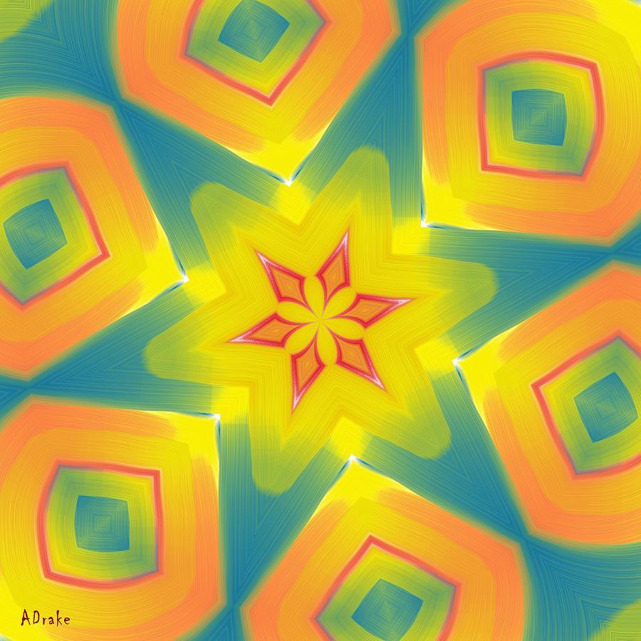 Kaleidoscopes Digital Art - Kaleidoscope Series Number 8 by Alec Drake