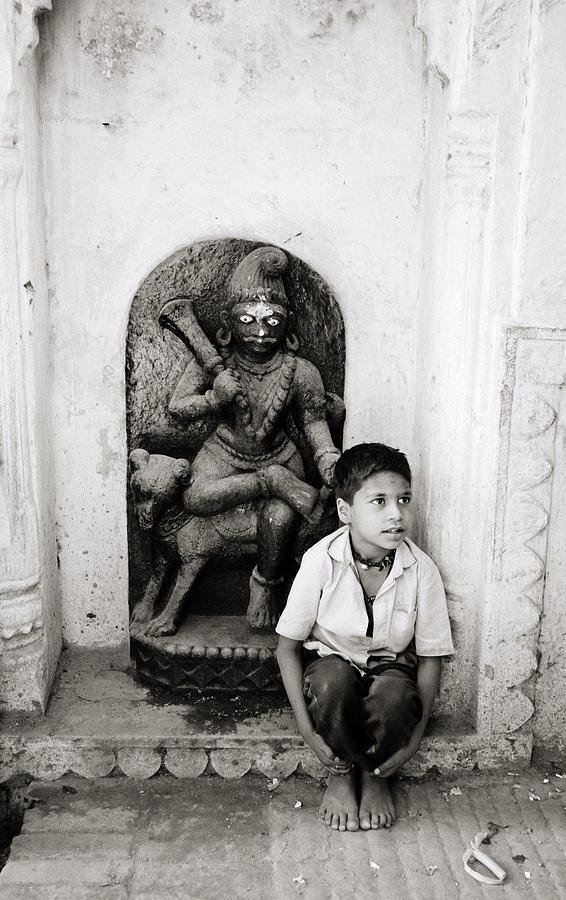 Asia Photograph - Kali In Benares by Shaun Higson