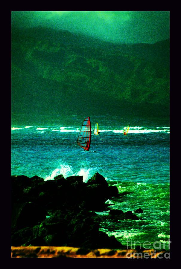 Maui Photograph - Kanaha Windsurfers by Susanne Still