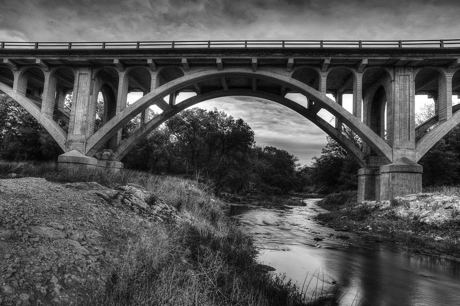 Bridge Photograph - Kansas Archway Bridge by Thomas Zimmerman