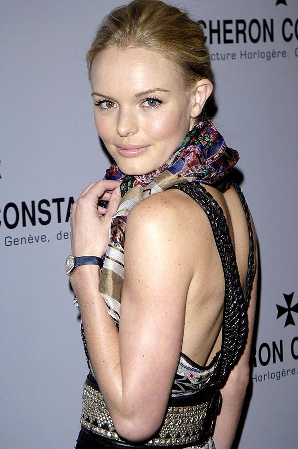 Vacheron Constantin Watch Brand Launches Platinum Excellence Tim Photograph - Kate Bosworth Wearing Etro At Arrivals by Everett