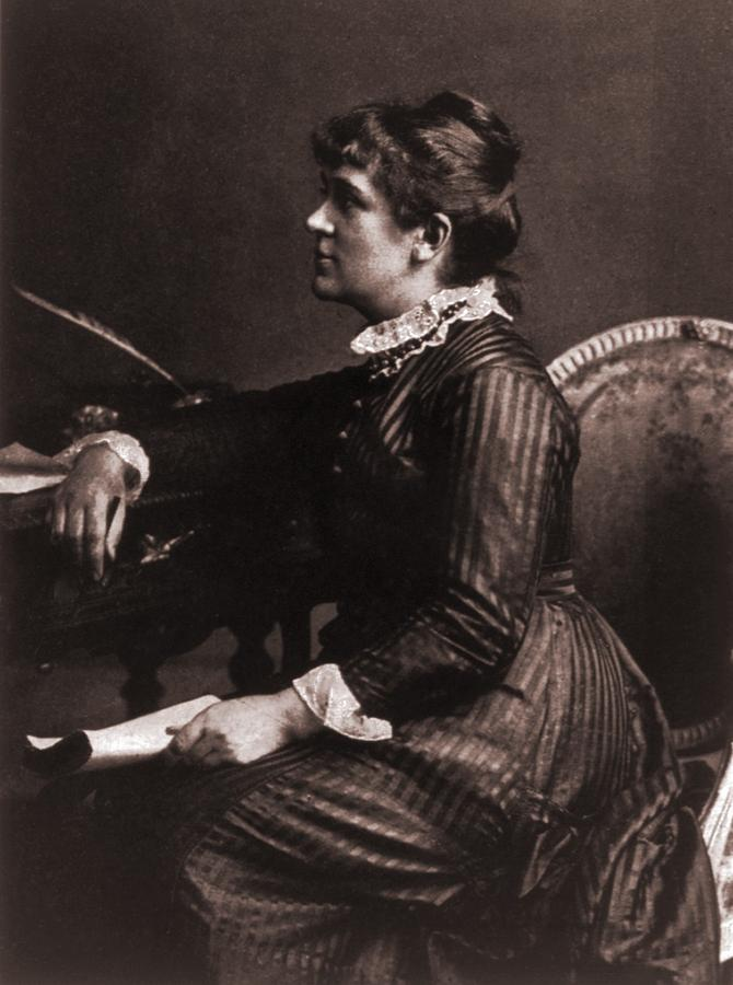 History Photograph - Kate Greenaway 1846-1901, A Leading by Everett